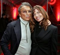 Robert Evans and Victoria at the Varietys Centennial Gala.