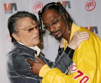 Robert Evans and Snoop Dogg at the Vibe Awards.