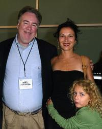 F.X. Feeney, Director Xan Cassavetes and Veronica Ross at the 8th Annual InFACT Theatrical Documentary showcase opening party.
