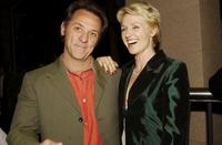 David Field and Rachael Blake at the Film Critics Circle Awards 2003.