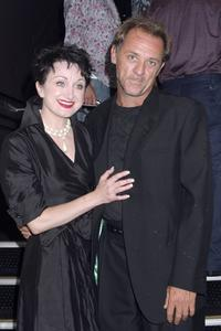 Caroline O'Connor and David Field at the Sydney Theatre Awards ceremony.