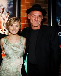 Clare Bowen and David Field at the premiere of