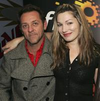 David Field and Loene Carmen at the screening of