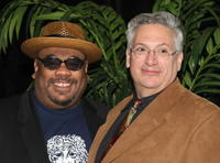 Stew and Harvey Fierstein at the 59th Annual New Dramatists Spring Luncheon honoring Harvey Fierstein.