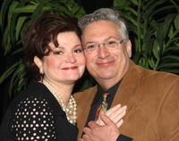 Faith Price and Harvey Fierstein at the 59th Annual New Dramatists Spring Luncheon honoring Harvey Fierstein.