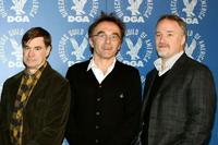 Directors Gus Van Sant, Danny Boyle and David Fincher at the DGA (Director's Guild of America) Awards Meet The Nominees.
