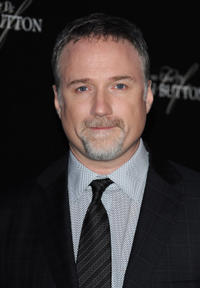 David Fincher at the Paris premiere of