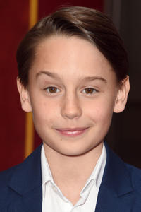 Finley Hobbins at the premiere of