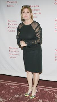 Carrie Fisher at the 38th Annual City of Lights Gala.