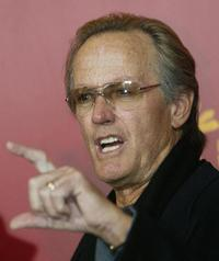 Peter Fonda at the press conference about the retrospective