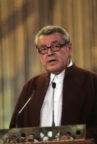 Milos Forman at the 7th International Film Festival.