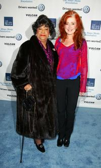 Ruth Brown and Bonnie Raitt at the Salute to the Blues Concert.
