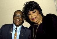 Hubert Sumlin and Ruth Brown at the premiere of