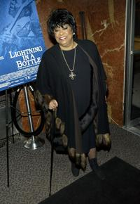 Ruth Brown at the premiere of
