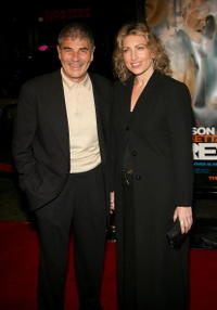 Robert Forster and Guest at the premiere of