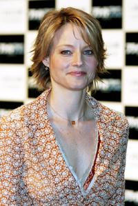 Jodie Foster at the press conference for the promotion of