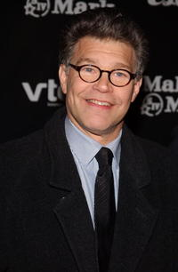 Al Franken at the Creative Coalition Spotlight Awards Gala.