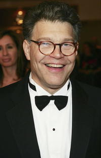 Al Franken at the White House Correspondents Dinner.