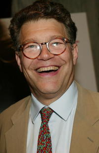 Al Franken at the world premiere of