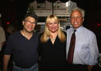 Al Franken, Ceslie Armstrong and Marc Green at the Cocktail Reception Hosted By Ceslie Armstrong for Richard Morrison.