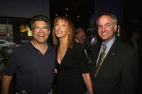 Al Franken, Tina Louise and Democrat Richard Morrison at the Cocktail Reception Hosted by Ceslie Armstrong for Richard Morrison.