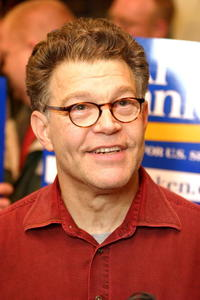 Al Franken at the campaign for Minnesota Senate Seat.