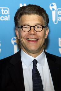 Al Franken at the press room during the taping of
