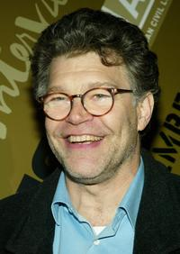 Al Franken at the Off-Broadway opening night of