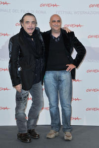Nino Frassica and director Rocco Mortelliti at the photocall of