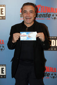 Nino Frassica at the Rome premiere of