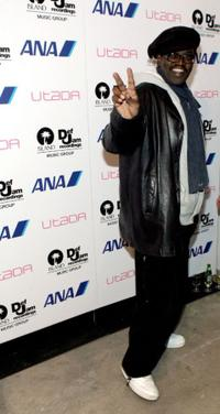 Fab Five Freddy at the Showcase For Utada Hosted By Blackbook And Def Jam.