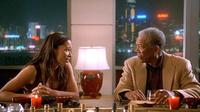 Rowena King and Morgan Freeman in