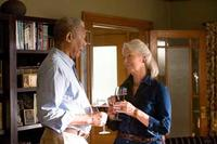 Morgan Freeman and Jane Alexander in