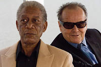 Morgan Freeman and Jack Nicholson in