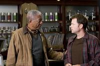 Morgan Freeman and Greg Kinnear in