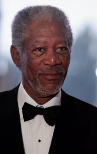 Actor Morgan Freeman at the Laureus Sports Awards in Spain.