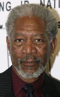 Actor Morgan Freeman at the Los Angeles Dream Dinner benefiting the Martin Luther King Jr., National Memorial.
