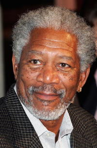 Actor Morgan Freeman at the China press conference of