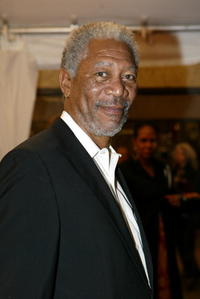Actor Morgan Freeman at the Toronto screening of