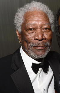 Morgan Freeman at the California premiere of