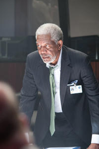 Morgan Freeman as Speaker Trumbull in
