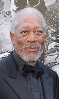 Morgan Freeman at the New York premiere of