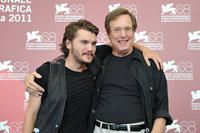 Emile Hirsch and William Friedkin at the photocall of