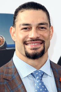 Roman Reigns at the premiere of