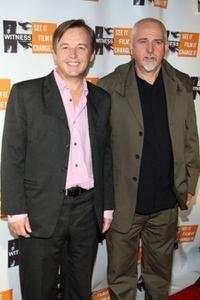 Chris Anderson and Peter Gabriel at the 4th Annual Focus For Change: Benefit Concert In Support Of Witness.