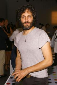 Vincent Gallo at the Mercedes-Benz Fashion Week Spring 2008.