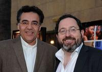 Rodrigo Garcia and Michael Barker at the premiere of