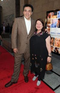 Rodrigo Garcia and director Allison Anders at the premiere of