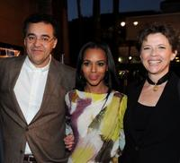 Rodrigo Garcia, Kerry Washington and Annette Bening at the premiere of