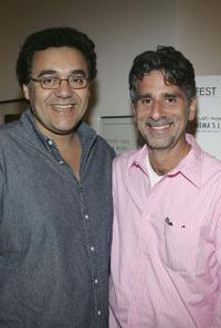 Rodrigo Garcia and writer/director Rob Spera at the screening of